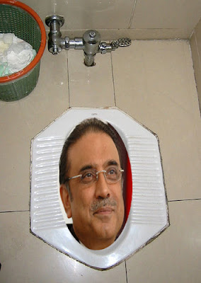 Funny pictures of Zardari