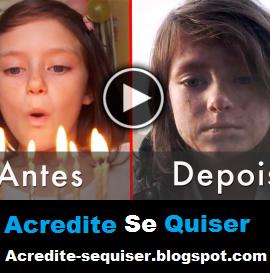 Vídeo Mostra a Destruição da Vida de Uma Menina, Antes e Depois da Guerra. Você Vai se Emocionar
