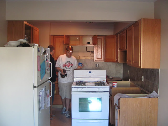 This is what our kitchen looks like today!
