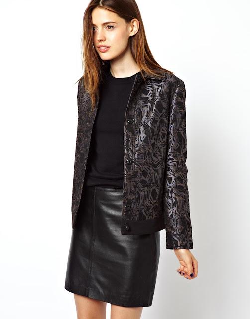 shimmery blazer