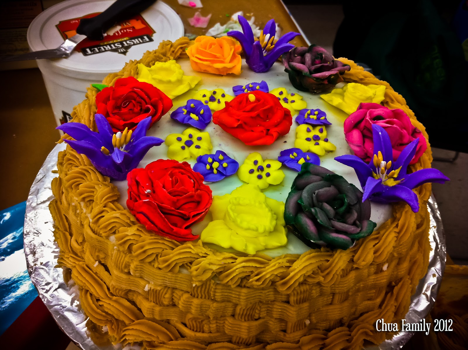 Cake Decorating Classes Burnaby : Treasured MOM-ents: Wilton Course 2- Completed!