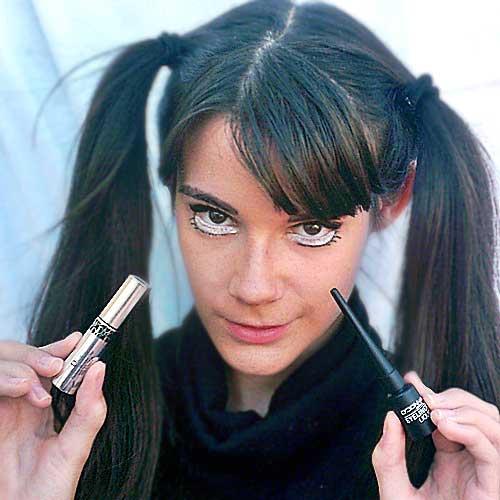 Maquillaje ojos muñeca rota monika sanchez guapa al instante