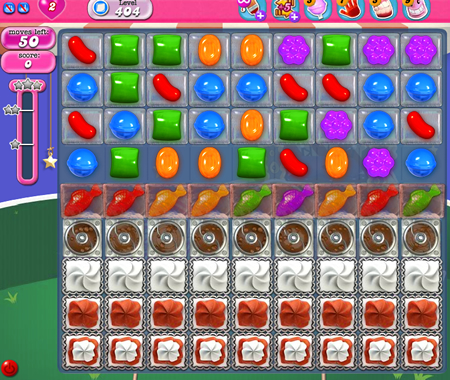 Candy Crush Saga 404