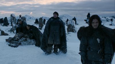 Jon nieve y Sam Tarly, más allá del muro - Juego de Tronos en los siete reinos
