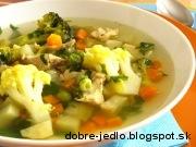 Jarná zeleninová polievka - recept