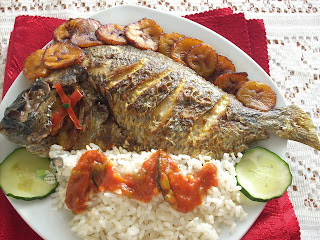 Nigerian Grilled Fish Recipe, Nigerian Food Recipes, Nigerian Food Recipes, Nigerian Recipes, Nigerian Food, Nigerian Food TV