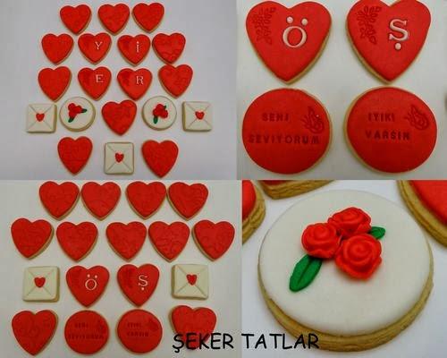 sevgililer günü butik kurabiye