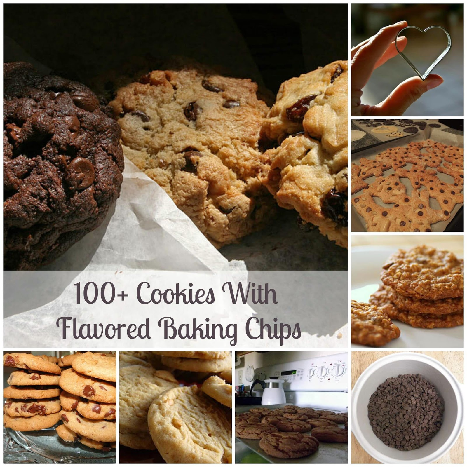 100+ Cookies With Flavored Baking Chips | Becky Cooks Lightly #cookies #bakingchips