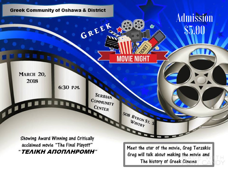 MOVIE NIGHT IN OSHAWA TUESDAY 20TH