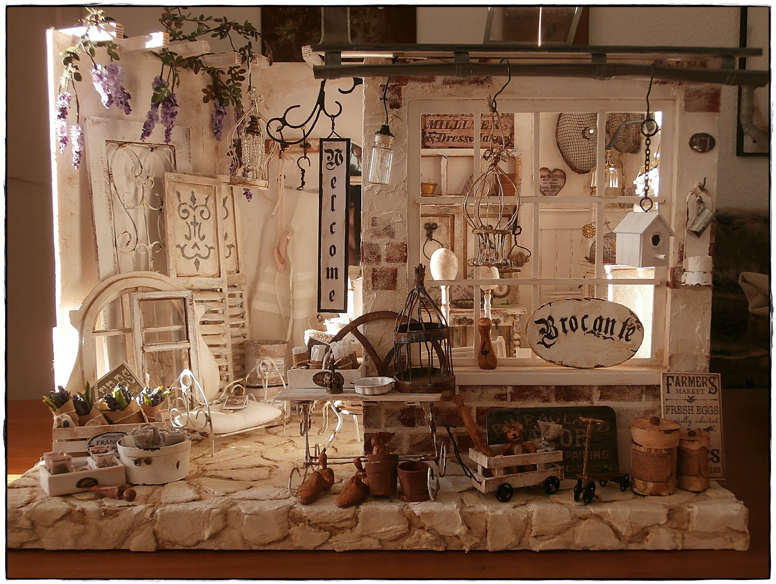 mini brocante shop