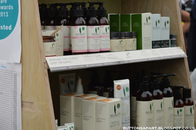 A picture of sukin natural skincare products