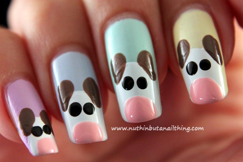 Dog Nail Art Tutorial Dog Nail Art Tutorial - Nuthin' But A Nail Thing: Dog Nail Art Tutorial