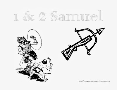1 and 2 samuel books of the bible coloring page - Books Bible Coloring Pages