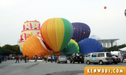 putrajaya hot air balloon launching site
