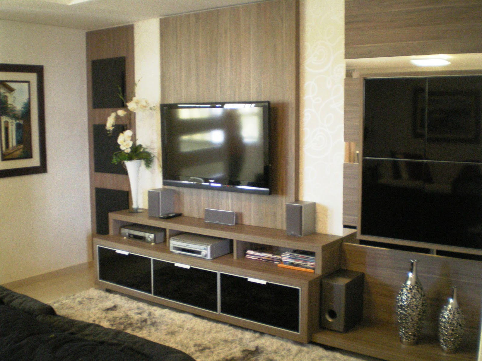 Criare Decorbrink Delicia de Casa Home Theater e Quarto  ~ Quarto Casal Home