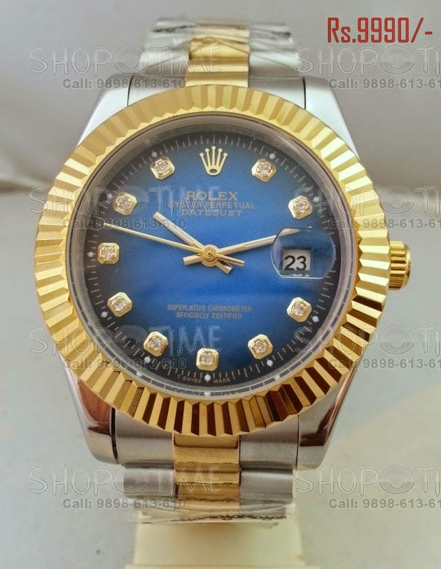 Spot fake Rolex Oyster Perpetual Datejust