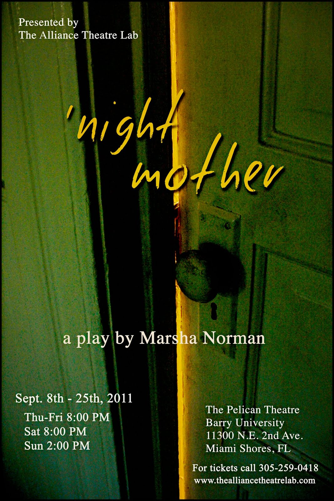 an examination of the play night mother by marsha norman