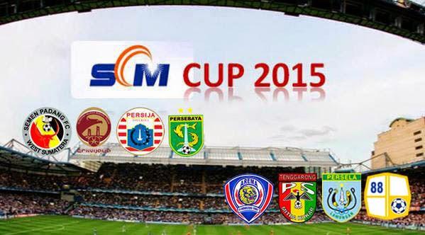 Jadwal Lengkap Barito di SCTV (Surya Citra Media) Cup 2015