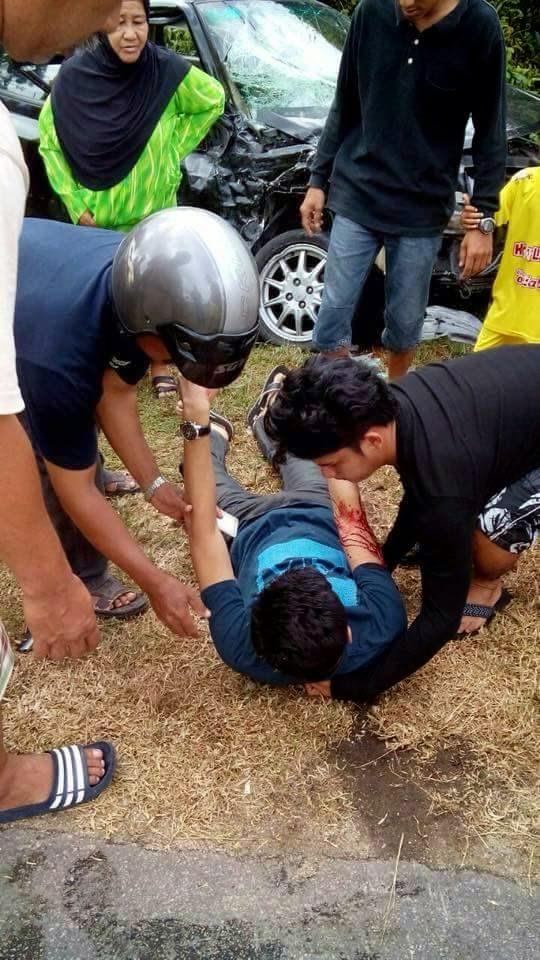 Terkini Gambar Mangsa Sembelih Bergelimpangan Di Jalan Raya Di Beris Kubu Besar Bachok Kelantan