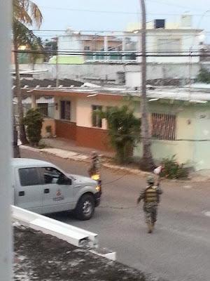Balacera en colonia Villa Rica de Veracruz 24 de diciembre
