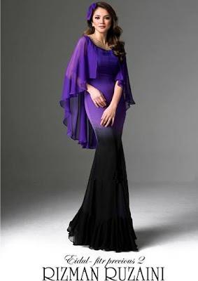 Design Baju Raya 2012 by Rizman Ruzaini - Nur Fazura