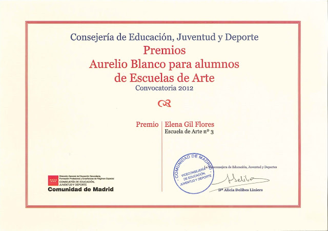 Premio Aurelio Blanco Elena Gil Flores