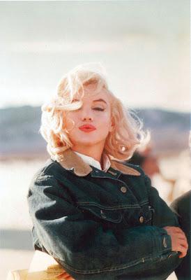 Marilyn crop denim jacket