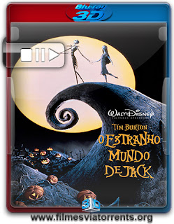 O Estranho Mundo de Jack (The Nightmare Before Christmas) Torrent - BluRay Rip