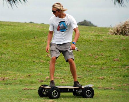 celebrities spy motorized off road skateboard 6 images. Black Bedroom Furniture Sets. Home Design Ideas