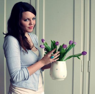 Blumenmädchen, Tulpenmädchen,daily outfti, hausfrau