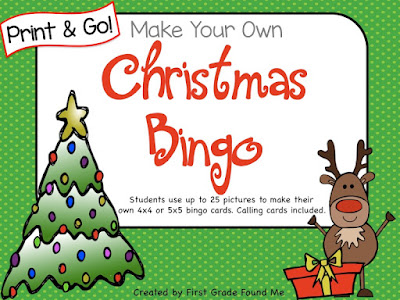 https://www.teacherspayteachers.com/Product/Christmas-BINGO-No-Prep-2219276