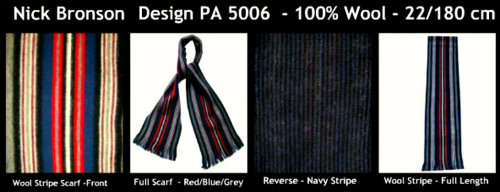 Nick Bronson - Stripe Wool Scarf