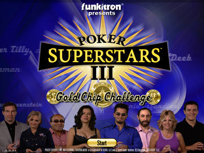 Poker superstars iii gold chip challenge