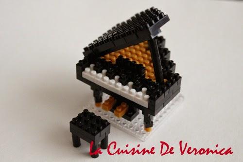La Cuisine De Veronica Nanoblock Grand Piano
