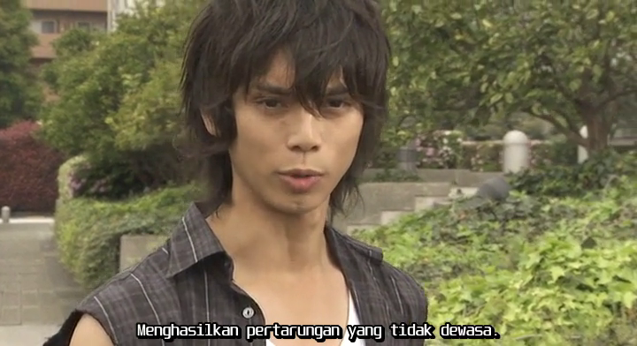 Kamen Rider Kabuto 17 Subtitle Indonesia