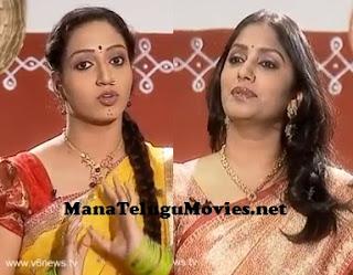 Anchor Jhansi in Rachcha Ramulamma Show