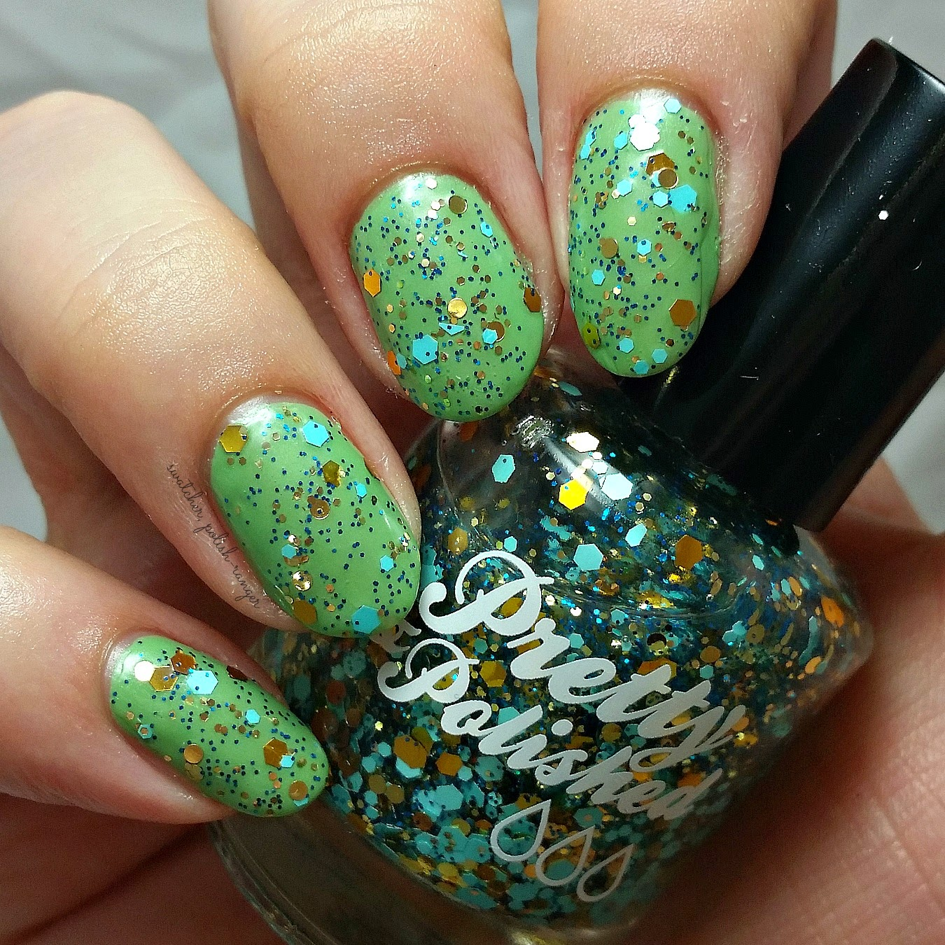 swatcher, polish-ranger | Pretty & Polished Girl Next Door swatch