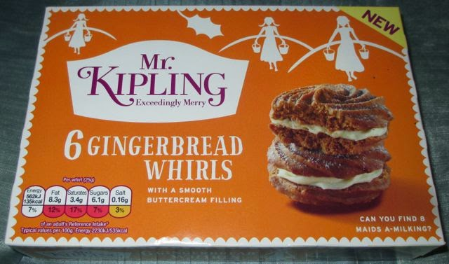 Foodstuff finds mr kipling gingerbread whirls tesco by cinabar when i saw these in tesco i thought they sounded like a lovely autumnal twist on the regular viennese whirls from mr kipling once home i realised that the solutioingenieria Choice Image