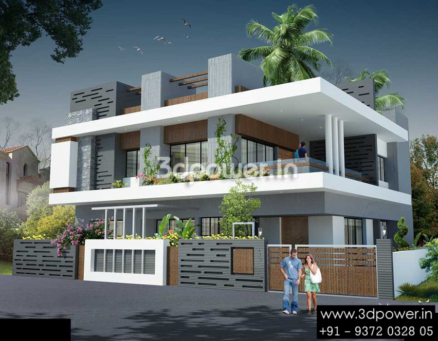 Ultra modern home designs home designs 20 bungalow designs for Ultra contemporary house plans