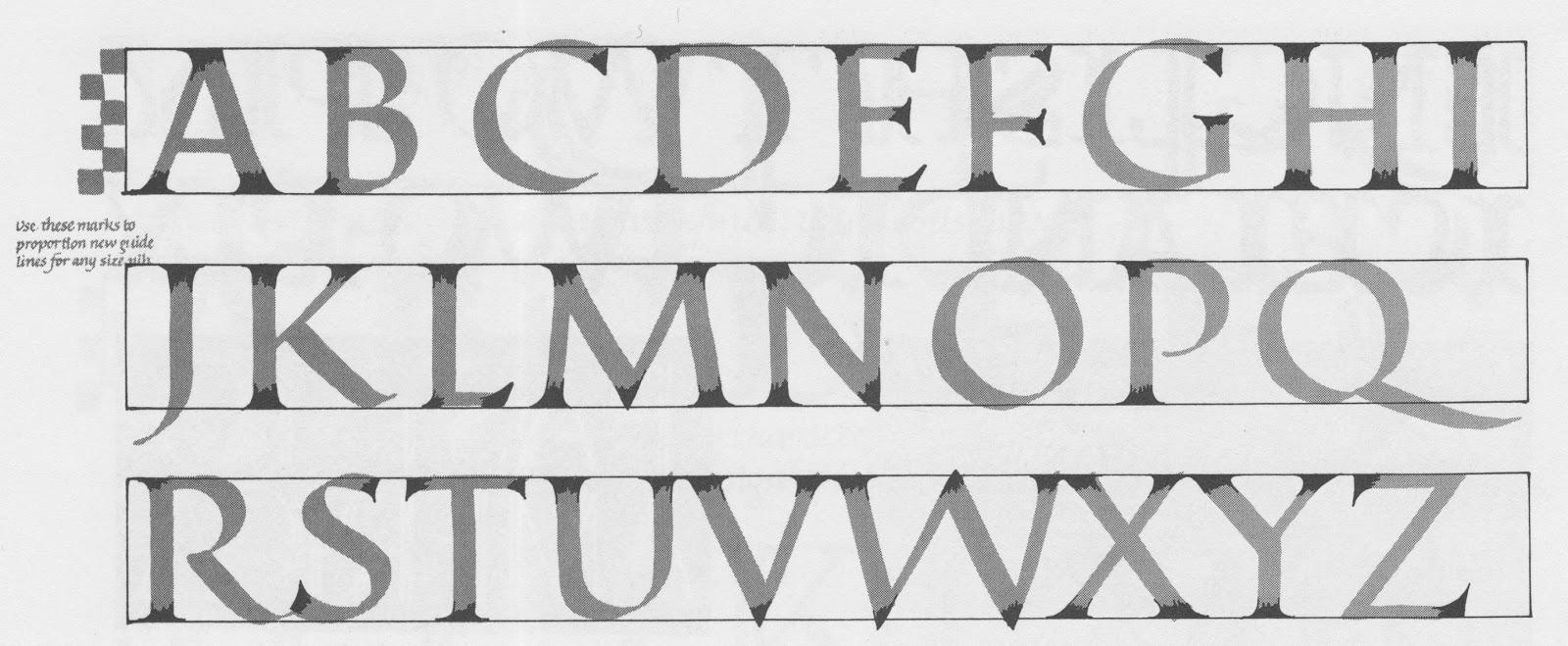 Margaret shepherd calligraphy may