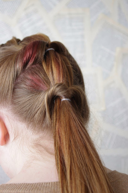 enchanted hairstyles topsy tail