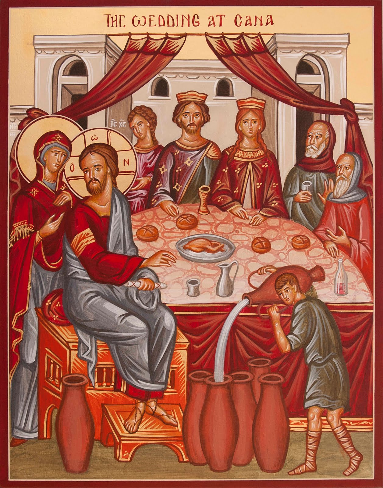 Icons And Echoes The Wedding At Cana