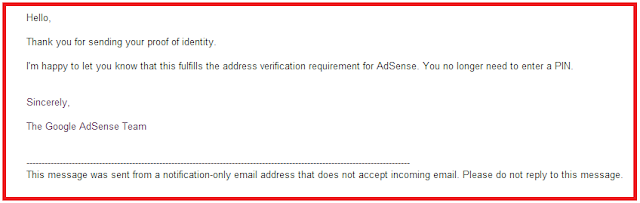 Google Adsense Pin Not Received In India - Now Check Solution