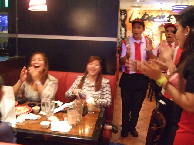 We Always Get The Best Of Laughs Here And I Am Thankful That TGIFRIDAYS Peeps Are So Accomodating With Our Crazy Wish