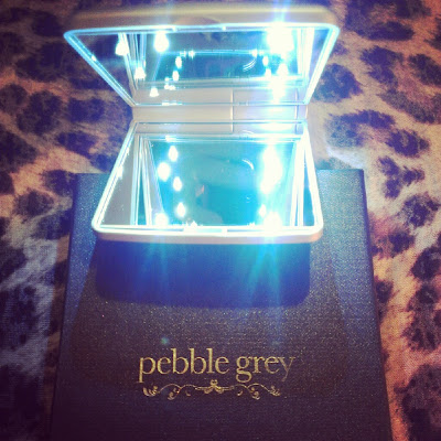 Pebble Grey LED Makeup mirror main