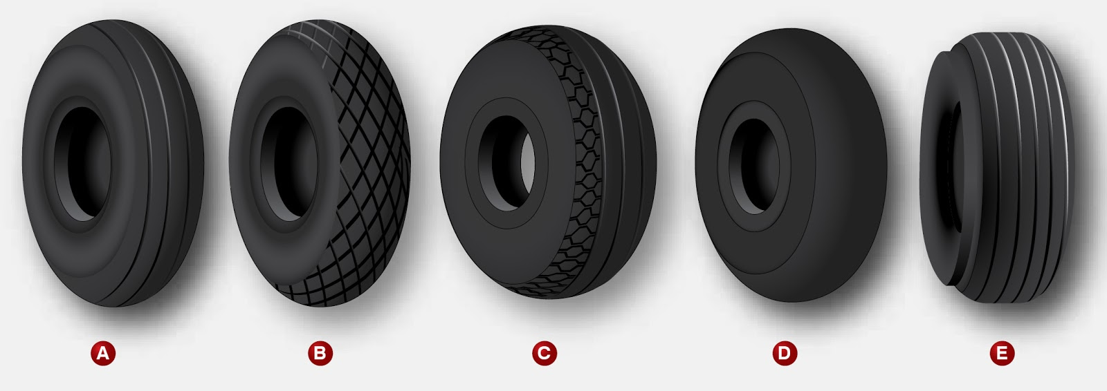 Aircraft tires and tubes
