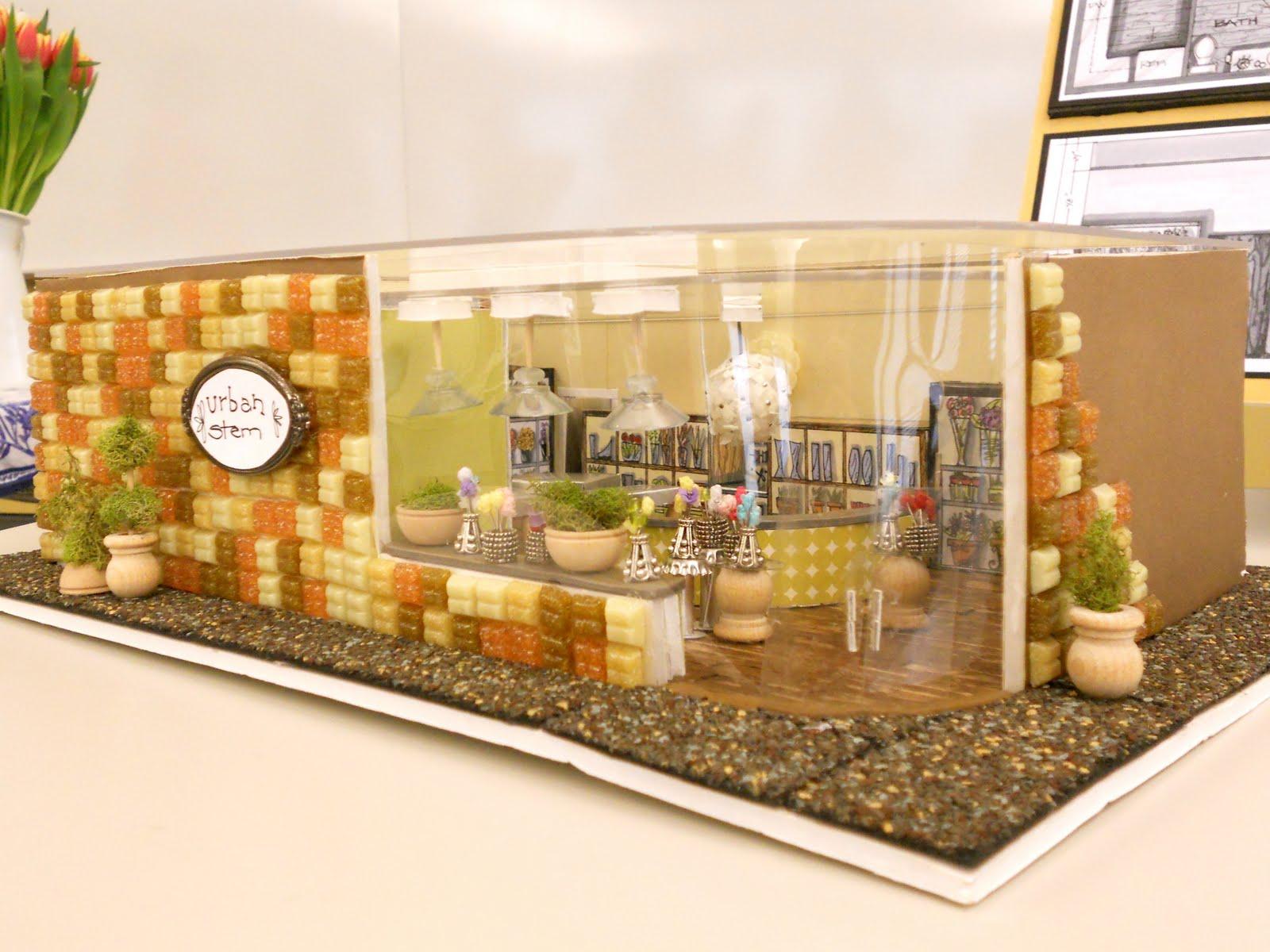 Brandalyn Designs: Urban Stem Flower Shop: Space Planning Final