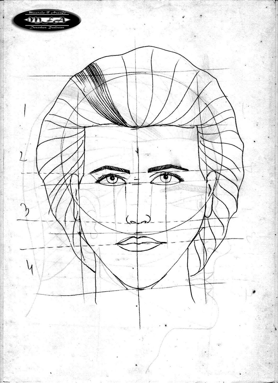 Excepcional Proporção de face – M.F.A. DESENHOS REALISTAS WR26
