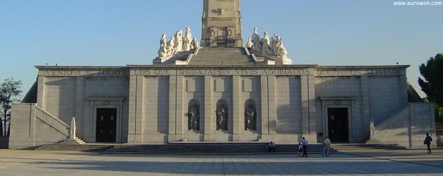 Monumento al Sagrado Corazón de Jesús en el Cerro de los Ángeles de Getafe