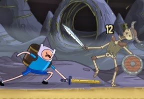 Adventure Time Finn Bones İskelet Savaşı